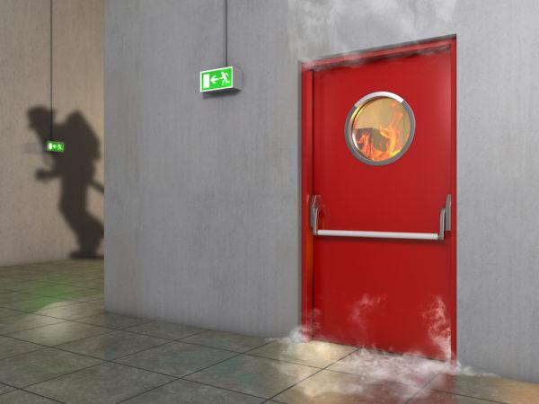 Противопожарна врата