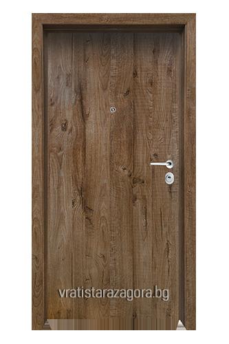 Блиндирана врата Модел CLASIKO цвят James