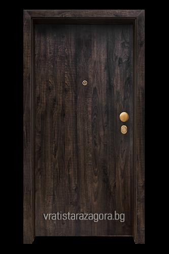 Блиндирана врата Модел CLASIKO цвят Greenwich