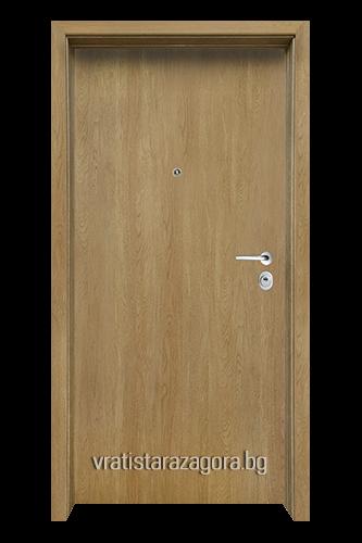 Блиндирана врата Модел CLASIKO цвят Fiamato