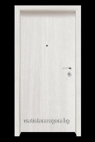 Блиндирана врата Модел CLASIKO цвят White