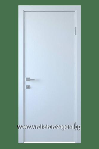 Интериорна врата модел Колори цвят Бял
