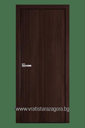 Интериорна врата модел Колори цвят Кестен