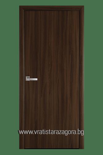 Интериорна врата модел Колори цвят Златна елха