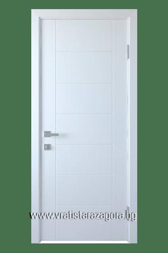 Интериорна врата модел Рина цвят Бял