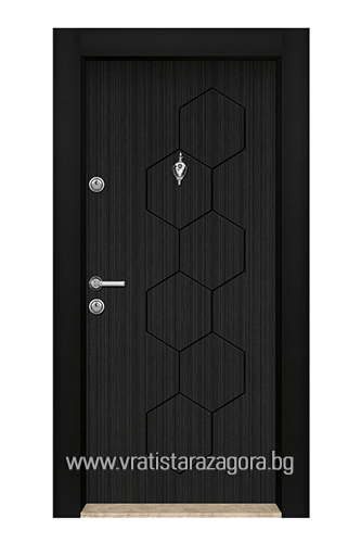 Входна врата модел Стар 04 Черна Перла