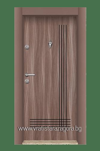 Входна врата модел 02 Танганика