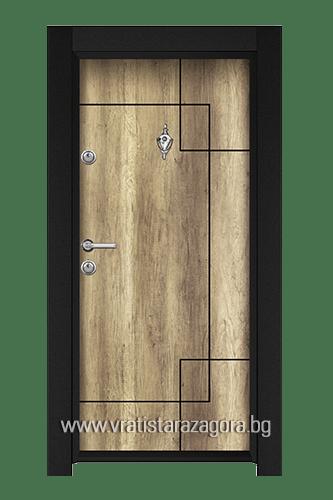 Входна врата модел Стар 44