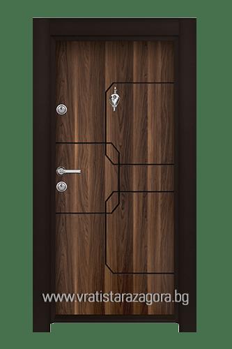 Входна врата модел Стар 52